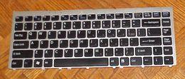 Laptop keyboard sony online shopping - KEYBOARD FOR SONY VGN FW235J PCG D3L LAPTOP J N0U82