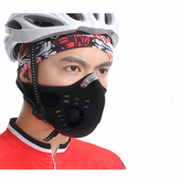 city anti pollution mask NZ - WOSAWE Anti-pollution City Cycling Face Mask Mouth-Muffle Dust Mask Bicycle Sports Protect Road cycling mask cover Protective