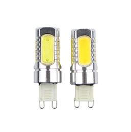 Replace spotlight bulb online shopping - G9 LED COB Lamp V W COB LED Corn Light Degrees Beam Angle Spotlight Lamps Bulb Replace Halogen Spotlight Chandelier