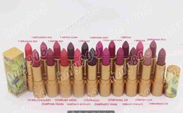Chinese  Limited Edition Brand Makeup Lipstick Guo Pei Lustre Lipstick Have 20 Different Colors With English Name manufacturers