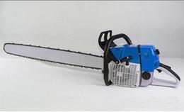 Scie à chaîne pour essence avec des outils de jardinage puissants 660 5.7kw 660 scie à essence pour machine à bois en bois avec 36 '' BarChain