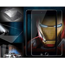 Discount ipad pro box - For iPad Pro 2018 Tablet Glass Protector Film 0.4mm Screen Protector For Samsung Tablet Cover Film 8inch 10.1inch withou