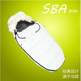 $enCountryForm.capitalKeyWord Canada - Wholesale- wendywu new super warm baby sleeping bagfootmuff strollers footmuff, stroller sleepsacks, high quality sleeping bag