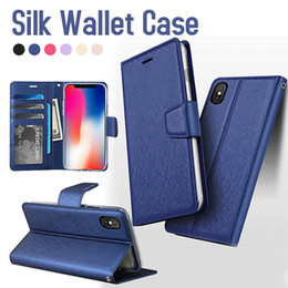 Gold protector online shopping - For iPhone XS Max Wallet Case Flip Cover Stand Holder Cover Cases for iPhone XR Samsung Note S9 A8 Protector Case with Retail Box