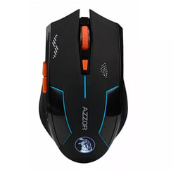 $enCountryForm.capitalKeyWord Australia - G043 AZZOR Rechargeable Wireless Mouse 2400DPI 2.4G Gaming Mouse Laser Mouse Gamer Silence Built-in Battery Computer Mice For PC Mac Laptop