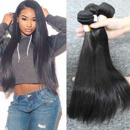Discount 24 inch black hair extensions cheap 2017 24 inch black discount 24 inch black hair extensions cheap 100 unprocessed brazilian human hair extensions 3pcs lot pmusecretfo Image collections