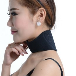 Heating belts online shopping - Neck Protector Unisex New Shin Guard Magnetic Self Heating Relieve Headache Massager Belt Necks Protection Health Care Hot Sale ks F1