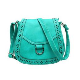 Chinese  Wholesale- Vintage Women Messenger Bag Hollow Out Handbag Saddle Bag Shoulder Bag Bolsa Feminina manufacturers