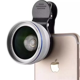 Wholesale Metal Clip HD phone lens x Super Wide Angle lens x Super Macro Lens for iPhone xiaomi huawei smartphone