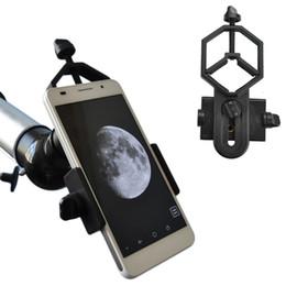 Evrensel Cep Telefonu Adaptörü Dağı-Dürbün Monoküler Spotting Kapsam Kapsam ile Uyumlu Teleskop ve Mikroskop adaptörü ücretsiz kargo