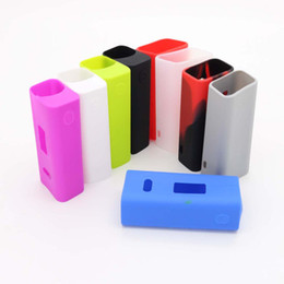 Discount cuboid boxes - Wholesale- Vapesoon Protective Silicone Case For CUBOID 150W Box Mod 10 Colors