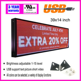 $enCountryForm.capitalKeyWord Australia - LED full color indoor rolling electronic advertising screen led sign running text language information