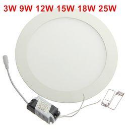 $enCountryForm.capitalKeyWord NZ - 25 Watt Round LED Ceiling Light Recessed Kitchen Bathroom Lamp AC85-265V LED Down light Warm White Cool White Free shipping