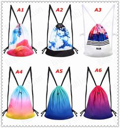$enCountryForm.capitalKeyWord Canada - new fashion backpack 3D printing travel softback man women harajuku drawstring bag mens canvas backpacks Free Shipping