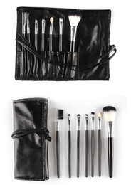 Sleek Hair Canada - High Quality Professional 7 pcs Makeup Brushes Set Toiletry Kit in Sleek Case Portable Make up Brush Set Cosmetic Tool