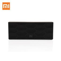 ipad pro box 2019 - Wholesale- Xiaomi Square Box Bluetooth 4.0 Speaker Mini Portable Wireless Loudspeaker Stereo Sound Box for iPhone 6S Plu