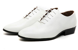 China Men's wedding photography business groom wedding shoes white male pointed studio photos leather shoes supplier grooms black shoes suppliers