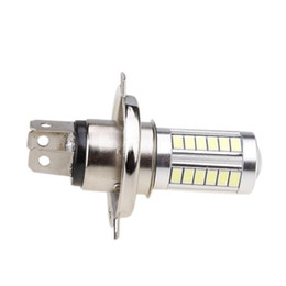 Wholesale 2Pcs Car H4 Led Headlight Bulbs White 8W 5630 SMD 6000K 500LM LED Fog Light Bulb Driving Light Daytime Running Light DRL
