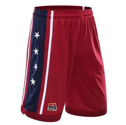 Chinese  USADream U.S. dream team basketball shorts breathable shorts male training 5 minutes of men's shorts in summer manufacturers