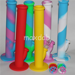 water pipe free shipping NZ - wholesale Silicon Water Pipes glass bongs silicone water pipes silicone bongs silicone water bong free shipping DHL