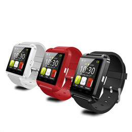 u8 plus bluetooth UK - Bluetooth Smart Watch U8 Watch Wrist Smartwatch for iPhone 4 4S 5 5S 6 6 plus Samsung S4 S5 Note 2 DHL Free