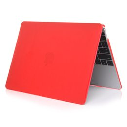 China Cheapest! For Macbook 11.6 12 13.3 15.4 Air Pro Retina Touch Bar Crystal Clear Cases Full Protective Cover Case Free shipping DHL suppliers
