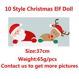 Kids christmas booKs online shopping - 10 Style Christmas Elf Doll Plush toys Elves Xmas dolls and Books Clothes on the shelf For Kids Christmas Gift