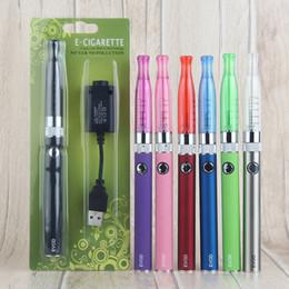Ce4 Ce5 Pen Australia - Top quality e cigarette starter kit evod battery with gsh2 atomizer blister kit vaporizer vape pen for ego CE4 CE5 MT3 vape cartridges