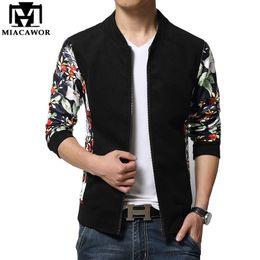 $enCountryForm.capitalKeyWord Canada - Wholesale- Plus Size 5XL Leather Sleeves Men Jacket European Brand Design Jaqueta de couro Fashion College Baseball Jaqueta Masculina MJ232