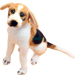 dog christmas presents 2018 - Dorimytrader Hot Quality 70cm Giant Simulated Animal Beagle Stuffed Toy 28inches Plush Soft Cartoon Dog Doll Pillow Chil