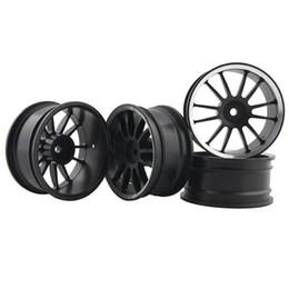Electric Rc Car Wheels Canada - RC Aluminum Wheel 4pc D:52mm W:26mm Fit HSP HPI 1:10 On-Road Drift Car Rim 123HS
