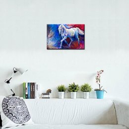 $enCountryForm.capitalKeyWord NZ - Modern Decor Canvas Print Horse European Oil Painting on Canvas Wall Art Picture Decor Canvas Poster Painting for Living Room