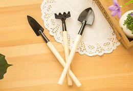 Garden Tools Rakes Canada - 3 pcs   set! hand tools gardening kit ferramentas bonsai Iron shovel rake shovel ripper garden digging tools
