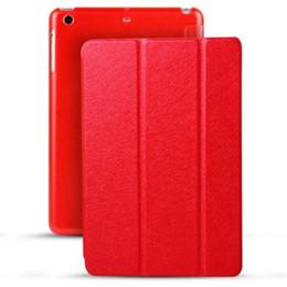 Discount ipad cases waterproof - Smart cover cases for ipad mini 1 2 3 4 mini4 slim luxury PC leather fold protector case dormancy awaken case colorful s