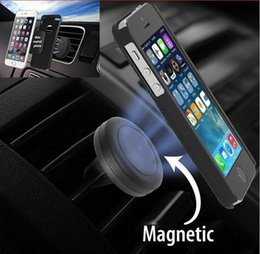 $enCountryForm.capitalKeyWord Canada - Universal Car Air Vent Mount Clip Magnetic Holder Dock For iPhone 6 6s 7 5s Samsung Magnet holder Tablet GPS