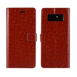 Chinese  Leather Flip Case for Samsung Galaxy S8 S8plus Note 8 Luxury PU Leather TPU Card Cover For iPhone 6S 7 8 X Wallet Lanyard Stand Holder Case manufacturers