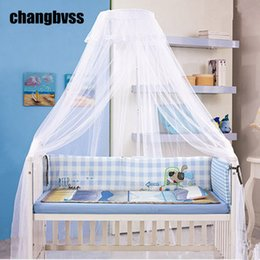 Wholesale 3 Colors 1PC Baby Bed Mosquito Net Princess Nets For Girls Crib Children Netting Fine Mesh Canopy