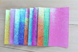 Nice statioNery online shopping - iridescent paper flash paper of size x7cm gsm nice decoration daily paper liv ng fold and cut use paper