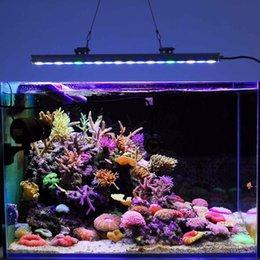 Venta al por mayor de Venta caliente 54W tira de tira impermeable del acuario IP65 a prueba de agua para agua dulce / arrecife de agua salada Coral Fish Tank Lighting US stock