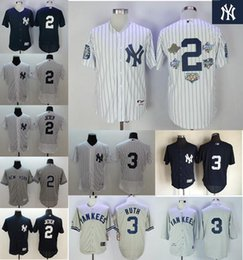 ... 2017 Cheap Mens New York Yankees Jersey 2 Derek Jeter 3 Babe Ruth Baseball  Jerseys Authentic ... fcfb1ea7e