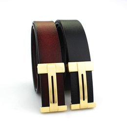 $enCountryForm.capitalKeyWord Canada - Fashion genuine leather belt designer belts men women high quality new mens belts cowskin luxury buckle belt free shipping
