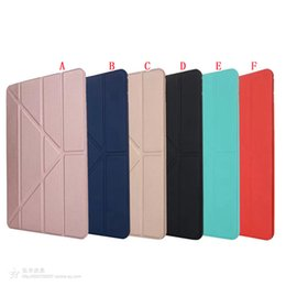 "tablets case 9.7 Canada - For Ipad Pro 10.5"" 2017 Ipad Pro 9.7"" 2017 Version tablet Ultral Slim PU Leather Wallet Case Pouch Stand Fold TPU Bag Skin Smart Cover 15pcs"