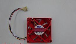 Discount avc fan cpu - Used: AVC DSSC0715R2M DC12V 0.4A 7020 70*70*20MM four wire CPU fan 7CM