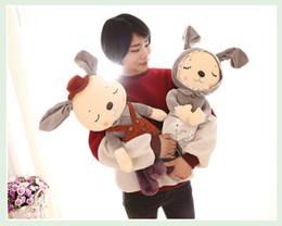 $enCountryForm.capitalKeyWord Canada - 2017 new plush toy couple rabbit creative public couple rabbit qixi valentine gift wholesale