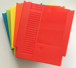 Replacement Games NZ - FIVE color 72 Pins Game Cartridge Replacement Plastic Shell For NES