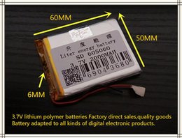 $enCountryForm.capitalKeyWord NZ - best battery brand Size 605060 3.7V 2000mah Lithium polymer Battery With Protection Board For MP5 GPS Tablet PC Digital Products