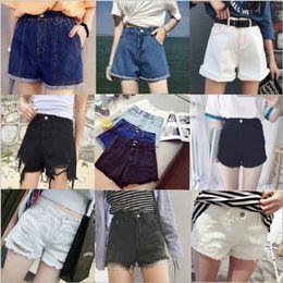 $enCountryForm.capitalKeyWord Canada - 30pcs lot Wholesale Sexy Mini Jeans Shorts female summer 2018 large size women casual Denim shorts Size S-5XL