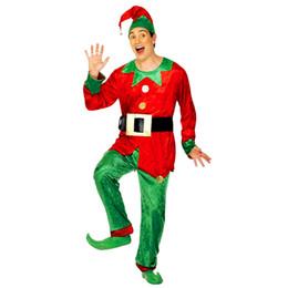 Christmas Movie Costumes Canada - Halloween Christmas Party Cosplay Smiffy'S Elf Costume Medium Clothes DM#6