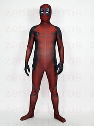 custom made costume deadpool UK - 3D printing deadpool costume muscles shade morph fullbody suit