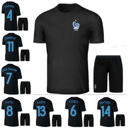brand new 91ad0 c9c9a shop 2014 world cup france 19 pogba home soccer shirt kit ...